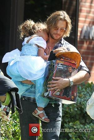 Gabriel Aubry Gets to See His Daughter Again