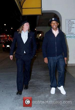 Val Kilmer and Russell Simmons