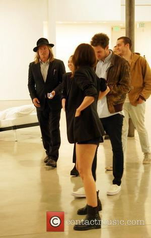 Val Kilmer Celebrities attend the Urs Fischer: Beds & Problem Paintings exhibition at The Gagosian Gallery in Beverly Hills Beverly...