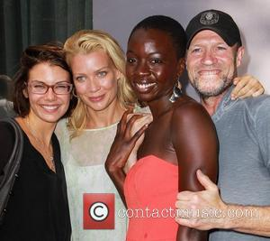 Lauren Cohan, Laurie Holden, Danai Gurira, Michael Rooker Gale Anne Hurd honored on the Hollywood Walk Of Fame Hollywood, California...
