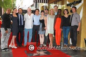 Iron E Singleton, Andrew Lincoln, Sarah Wayne Callies, Jeffrey Demunn, Steven Yeun, Gale Anne Hurd, Michael Rooker, Laurie Holden, Danai Gurira, Lauren Cohan, Norman Reedus and Walk Of Fame