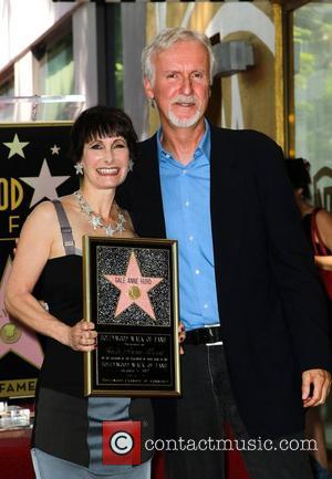 James Cameron, Gale Anne Hurd and Walk Of Fame