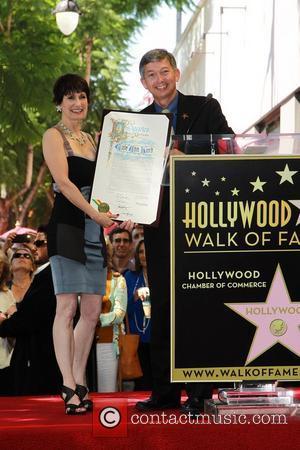Leron Gubler, Gale Anne Hurd and Walk Of Fame