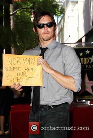 Norman Reedus  Gale Anne Hurd honored on the Hollywood Walk Of Fame Hollywood, California - 03.10.12
