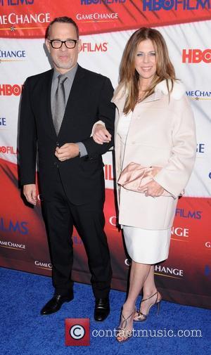 Tom Hanks, Rita Wilson and Ziegfeld Theatre