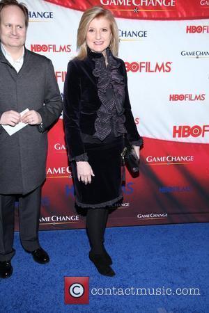 Arianna Huffington and Ziegfeld Theatre