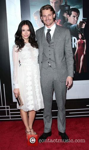 Abigail Spencer, Josh Pence and Grauman's Chinese Theater