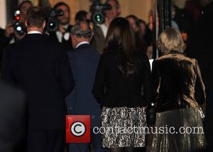 Duchess, Kate Middleton, Prince Charles, Prince William and Royal Albert Hall