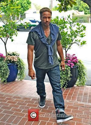 Actor Gary Dourdan seen shopping at Fred Segal on Melrose Avenue Los Angeles, California - 14.06.13