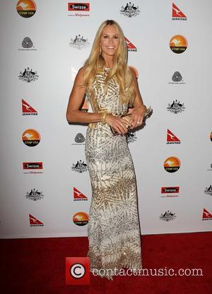 Elle Macpherson G'Day USA Black Tie Gala at the JW Marriot at LA Live - Arrivals  Featuring: Elle Macpherson...