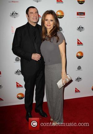 John Travolta; Kelly Preston G'Day USA Black Tie Gala at the JW Marriot at LA Live - Arrivals  Featuring:...