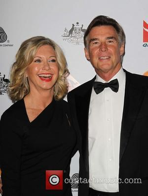 Olivia Newton-John; John Easterling G'Day USA Black Tie Gala at the JW Marriot at LA Live - Arrivals  Featuring:...