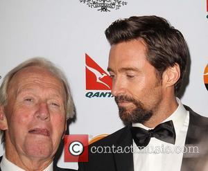 Paul Hogan; Hugh Jackman G'Day USA Black Tie Gala at the JW Marriot at LA Live - Arrivals  Featuring:...