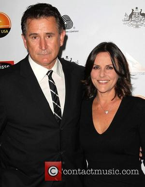 Anthony LaPaglia; Gia Carides G'Day USA Black Tie Gala at the JW Marriot at LA Live - Arrivals  Featuring:...