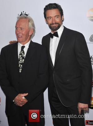 Paul Hogan; Hugh Jackman G'Day USA Black Tie Gala at the JW Marriot at LA Live - Arrivals  Featuring:...