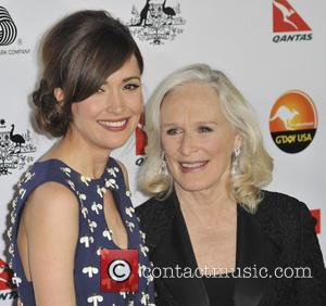 Rose Byrne; Glenn Close G'Day USA Black Tie Gala at the JW Marriot at LA Live - Arrivals  Featuring:...