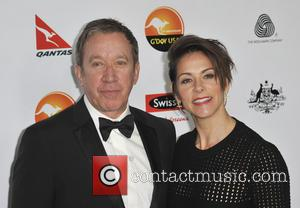 Tim Allen; Jane Hajduk G'Day USA Black Tie Gala at the JW Marriot at LA Live - Arrivals  Featuring:...
