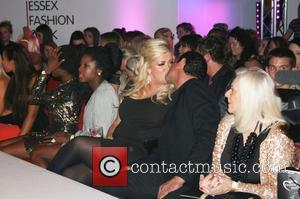 Gemma Collins kisses boyfriend Rami ssex Fashion Week Spring/Summer 2013 - Inside Essex, England - 06.10.12 Essex, England - 06.10.12