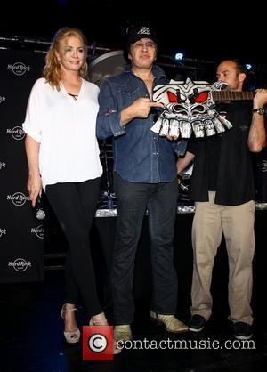 Shannon Tweed, Gene Simmons Hard Rock Cafe in Las Vegas celebrate Gene Simmons, held at The Hard Rock Cafe Las...