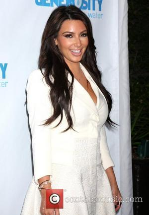 Kim Kardashian Finds Novel Way To Fill Her Spare Time