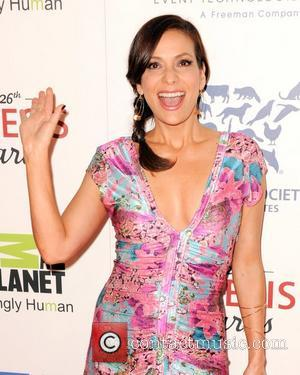Constance Marie and Beverly Hilton Hotel