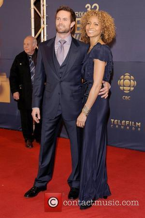 Garret Dillahunt and Michelle Hurd  The 32nd Annual Genie Awards Arrival at the Westin Harbour Castle.  Toronto, Canada...