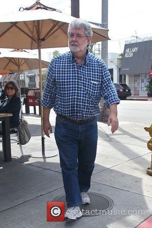 George Lucas departs Toast Cafe Los Angeles, California - 28.03.12