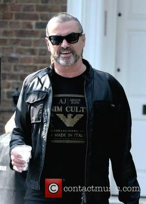 George Michael leaving his house London, England - 21.03.12