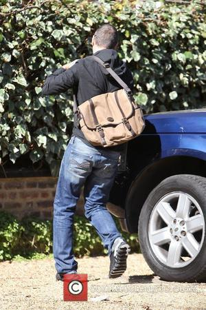 George Michael arriving at his house in north London London, England - 26.03.12