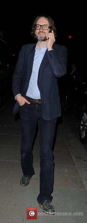Jarvis Cocker leaving George restaurant in Mayfair London, England - 18.06.12