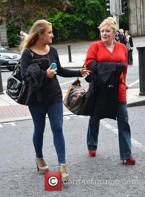 Adele King and her daughter Naomi King Georgia Salpa 'Eyes & Nails Like Georgia' launch party at Residence Dublin, Ireland...