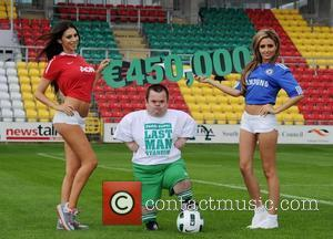 Celebrity Big Brother contestant Georgia Salpa appears in an advertising campaign for Paddy Power Ireland - 2011  This is...