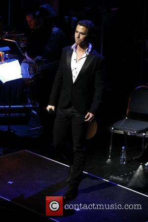 Richard Fleeshman  A sneak peak performance of the music from 'Ghost The Musical' held at the Lunt-Fontanne Theatre...