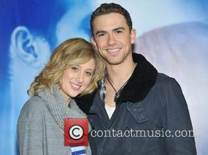 Richard Fleeshman, Caissie Levy 'Ghost The Musical' old cast departure and new cast announcement held at the Piccadilly Theatre. London,...