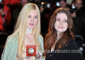 Elle Fanning and Alice Englert