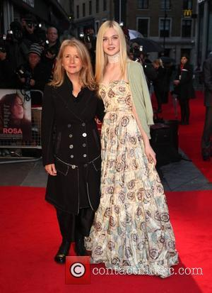 Sally Potter and Elle Fanning