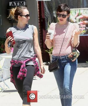 Ginnifer Goodwin  leaving Kings Road Cafe with a hot beverage  Los Angeles, California - 29.06.12