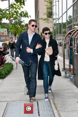 Ginnifer Goodwin and Josh Dallas return to their hotel in Manhattan New York City, USA - 14.05.12