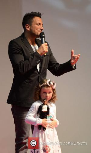 Peter Andre Hosts Tea Party For Children's Charity