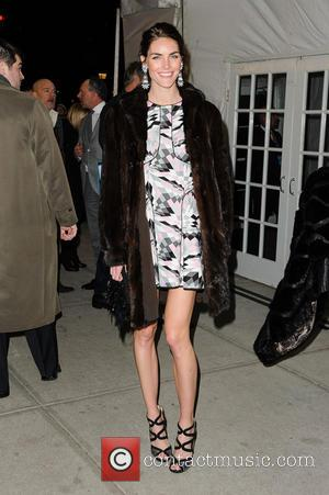 Hilary Rhoda HBO Hosts The Premiere Of 'Girls' Season 2 - Outside arrivals  Featuring: Hilary Rhoda Where: New York...