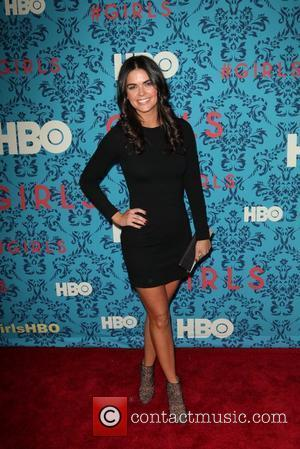 Katie Lee  The New York Premiere of HBO's new series, 'Girls', at the SVA Theater New York City, USA...