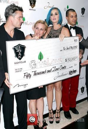 Balthazar Getty, Katy Perry and Patricia Arquette
