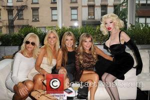 Ana Quincoces, Alexia Echevarria, Marisol Patton and Amanda Lepore,  at the 2012 GLAAD Manhattan Summer Event. New York City,...