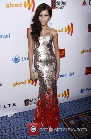 Isis King  23rd Annual GLAAD Media Awards at the Marriott Marquis Hotel - Arrivals  New York City, USA...