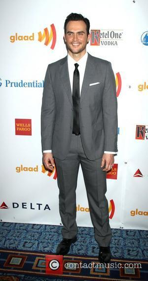Cheyenne Jackson 23rd Annual GLAAD Media Awards at the Marriott Marquis Hotel - Arrivals. New York City, USA - 24.03.12