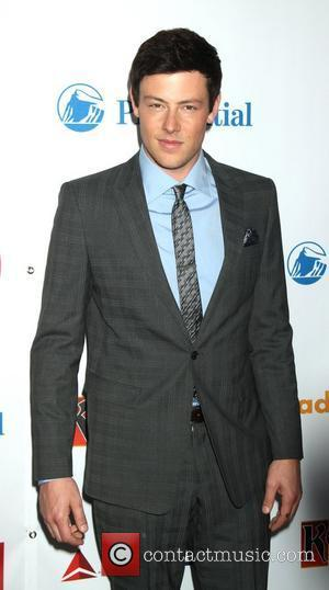 Cory Monteith 23rd Annual GLAAD Media Awards at the Marriott Marquis Hotel - Arrivals. New York City, USA - 24.03.12