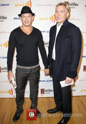Rubem Robierb and Sam Champion GLAAD Art Auction, held at the Metropolitan Pavilion - Arrivals New York City, USA -...