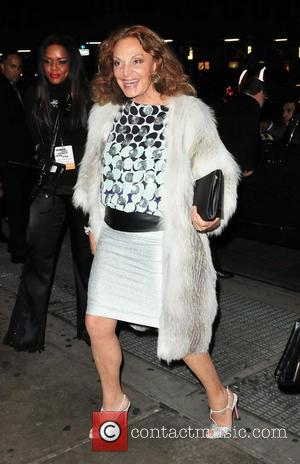 Diane Von Furstenberg The 22nd annual Glamour Women of the Year Awards at Carnegie Hall- Outside Arrivals New York City-...
