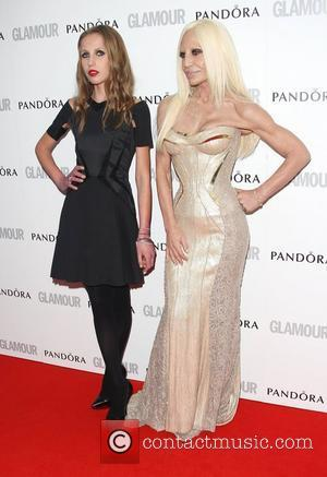 Donatella Versace with her daughter Allegra Versace The Glamour Women of the Year Awards 2012 - Arrivals London, England -...