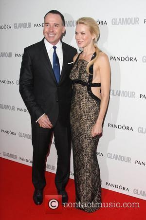 David Furnish and Naomi Watts